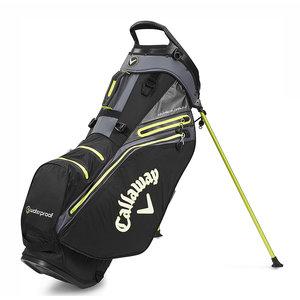 Callaway Callaway Hyper Dry 14 Waterproof Standbag - Zwart Geel