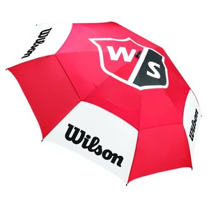 Wilson Wilson Staff Tour 68 Inch Double Canopy Golfparaplu - Rood Wit
