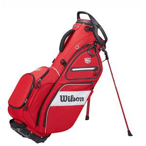 Wilson Wilson Staff Exo II  Standbag 2021 - Rood Wit