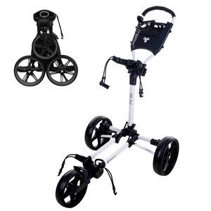 FastFold FastFold Slim Golftrolley - Wit Zwart