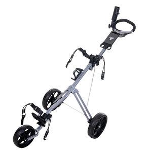 FastFold FastFold Force Golf Trolley - Silver Black