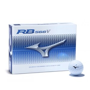 Mizuno Mizuno RB566V Golfballen - Dozijn / 12 stuks - Wit