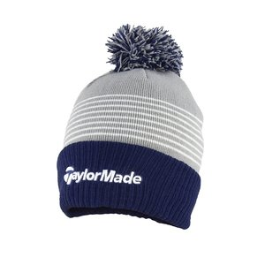 TaylorMade TaylorMade Bobble Beanie 2020  - Grey Blue