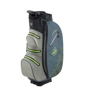 Wilson Wilson Staff Dry Tech II Waterproof Cart bag - Charcoal Lime