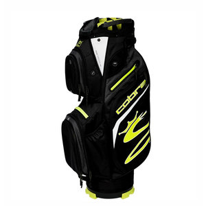 Cobra Cobra UltraLight Cart Bag 2021 - Black Yellow