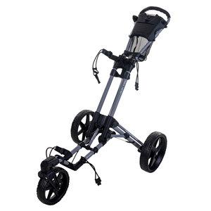 FastFold FastFold Flex 360 Golf Trolley - Grey Black