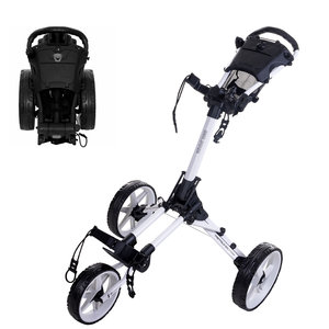 FastFold FastFold Square Golf Trolley - White
