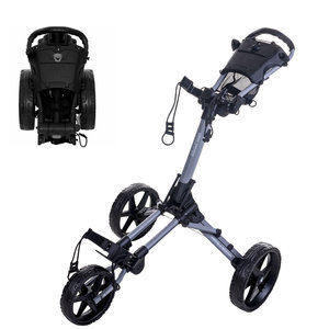FastFold FastFold Square Golf Trolley - Grey Black