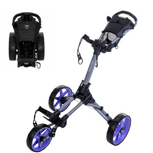 FastFold FastFold Square Golftrolley - Grijs Paars