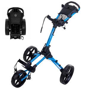 FastFold FastFold Square Golf Trolley - Aqua Blue