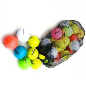 Spalding Spalding Rainbow Coloured Golf Balls - 24 Pieces