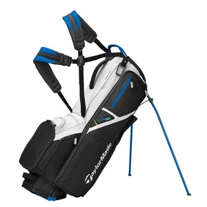 TaylorMade TaylorMade Flextech Driver Stand Bag 2021 - Black White Blue