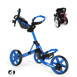 Clicgear Clicgear 4.0 Golftrolley - Blue