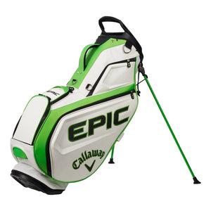 Callaway Callaway Epic 2021 Golf Tour Staff  Stand Bag - Wit Groen