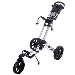 FastFold FastFold Flex 360 Golf Trolley - Silver Black