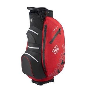Wilson Wilson Staff Dry Tech II Waterproof Cartbag - Red Black