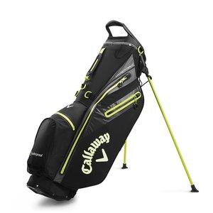 Callaway Callaway Hyper Dry  C. Waterproof Stand Bag - Black Yellow