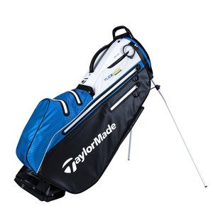 TaylorMade TaylorMade Flextech Waterproof Driver Stand Bag 2021 - Black White Blue