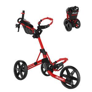 Clicgear Clicgear 4.0 Golf Trolley - Matt Red