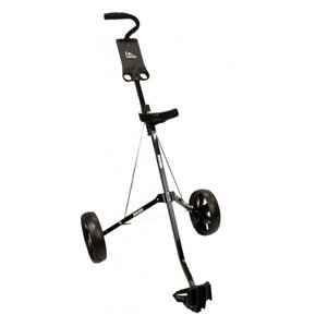 Boston  Boston Golf 2-Wheel Junior Golftrolley - Black