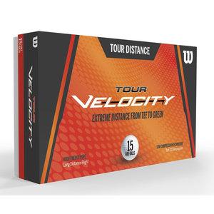 Wilson Wilson Tour Velocity 2020 Distance Golfballen - 15 Stuks