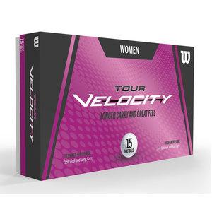 Wilson Wilson Tour Velocity 2020 Ladies Golf Balls - 15 Pieces