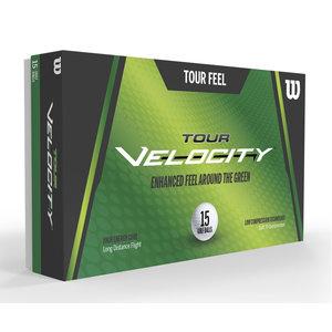 Wilson Wilson Tour Velocity 2020 Soft Golfballen - 15 Stuks