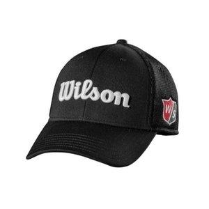 Wilson Wilson Staff Tour Mesh Cap - Black White