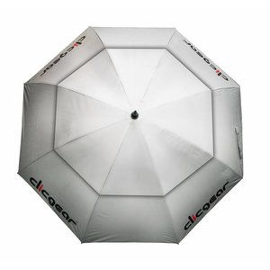 Clicgear 68 inch Double Canopy Golf umbrella - Silver