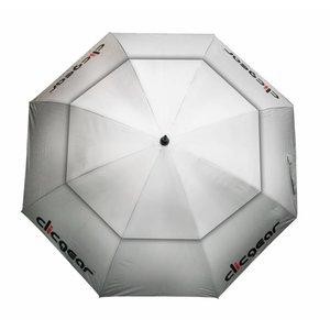 Clicgear 68 inch Double Canopy Golfparaplu - Zilver