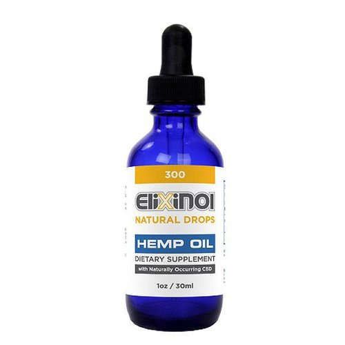 Elixinol CBD Olie 300 mg Naturel