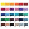 Einfarbige, gedruckte, leichte Matte mit glänzenden Farben !
