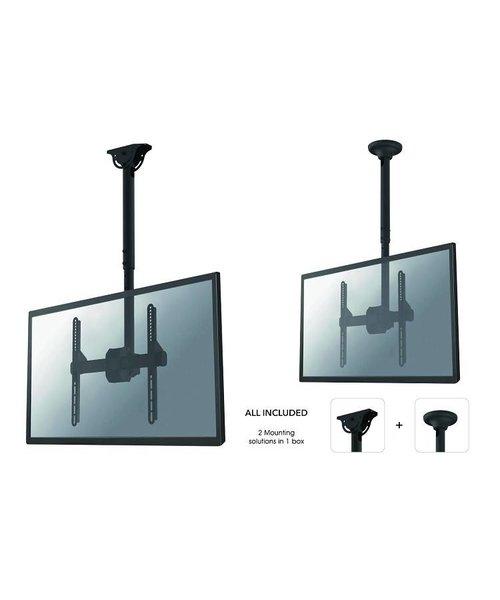 """Neomounts NM-C440BLACK (De NM-C440BLACK is een plafondsteun voor flat screens t/m 60"""" (152 cm)"""
