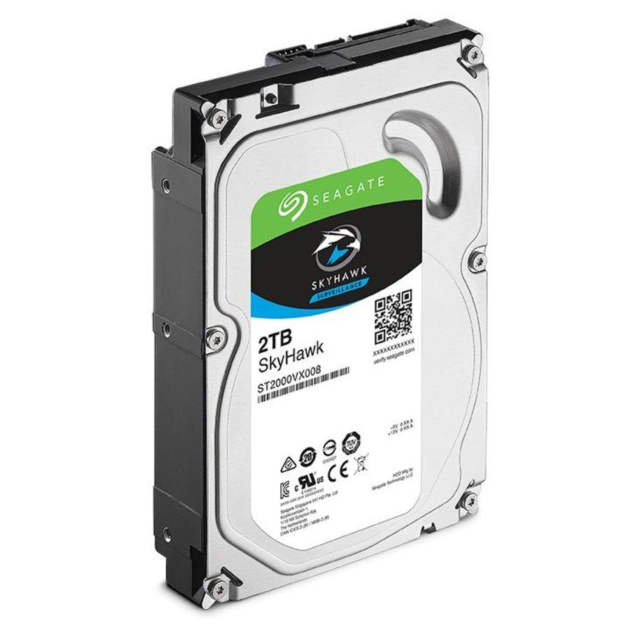 "2TB 5.900 rpm 3.5"" SATA SkyHawk Surveillance HDD"