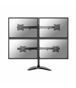 "NM-D335D4BLACK Flat Screen Desk mount (10-27"") desk clamp/stand/grommet"