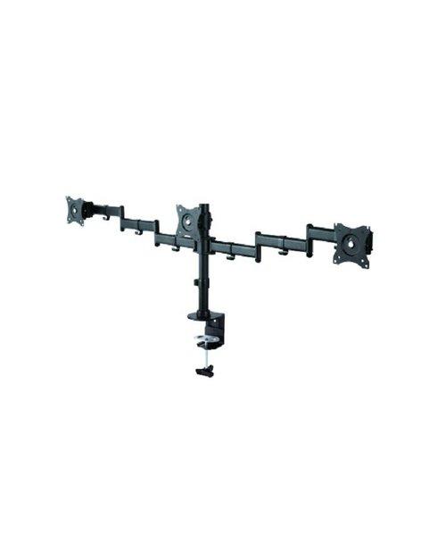 "Neomounts NM-D135D3BLACK Flat Screen Desk mount (10-27"") desk clamp/grommet"