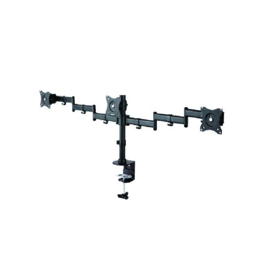 "NM-D135D3BLACK Flat Screen Desk mount (10-27"") desk clamp/grommet"