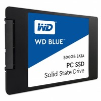 "500GB 2.5"" SATA SSD Blue 7mm Cased"