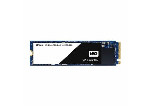 Western Digital (WDC) 256GB SSD PCIe Gen3 8 Gb/s, M.2 2280 - Black