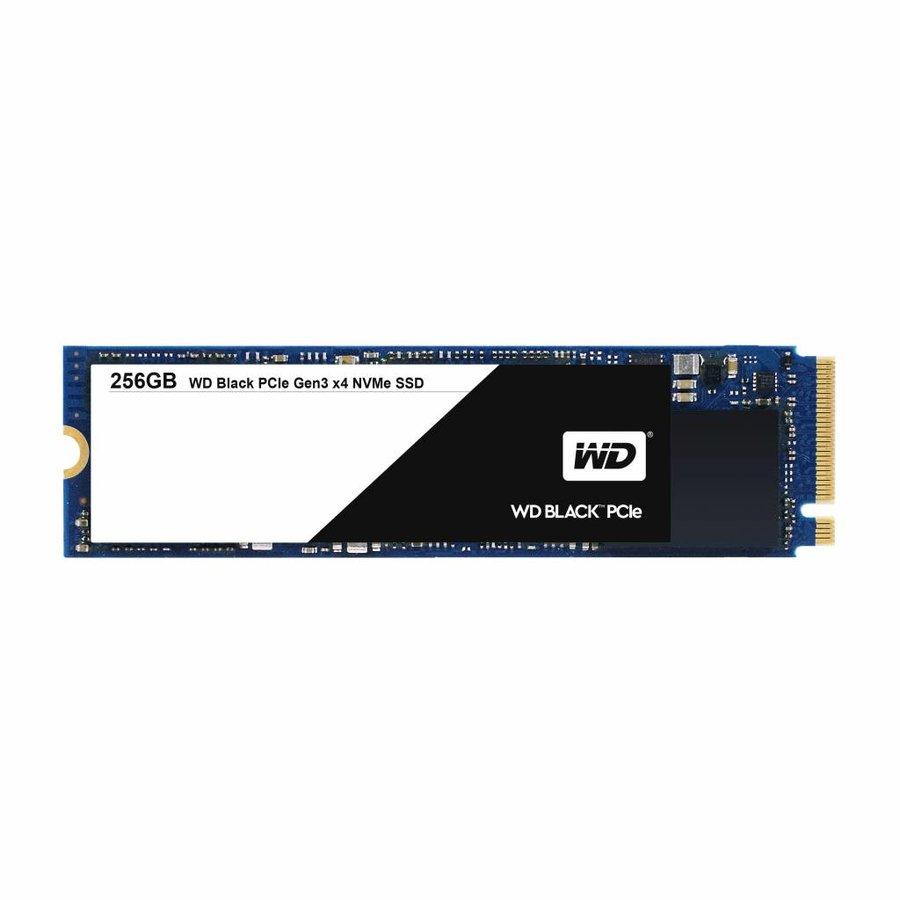 256GB SSD PCIe Gen3 8 Gb/s, M.2 2280 - Black