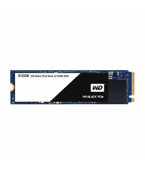 Western Digital (WDC) 512GB SSD PCIe Gen3 8 Gb/s, M.2 2280 - Black