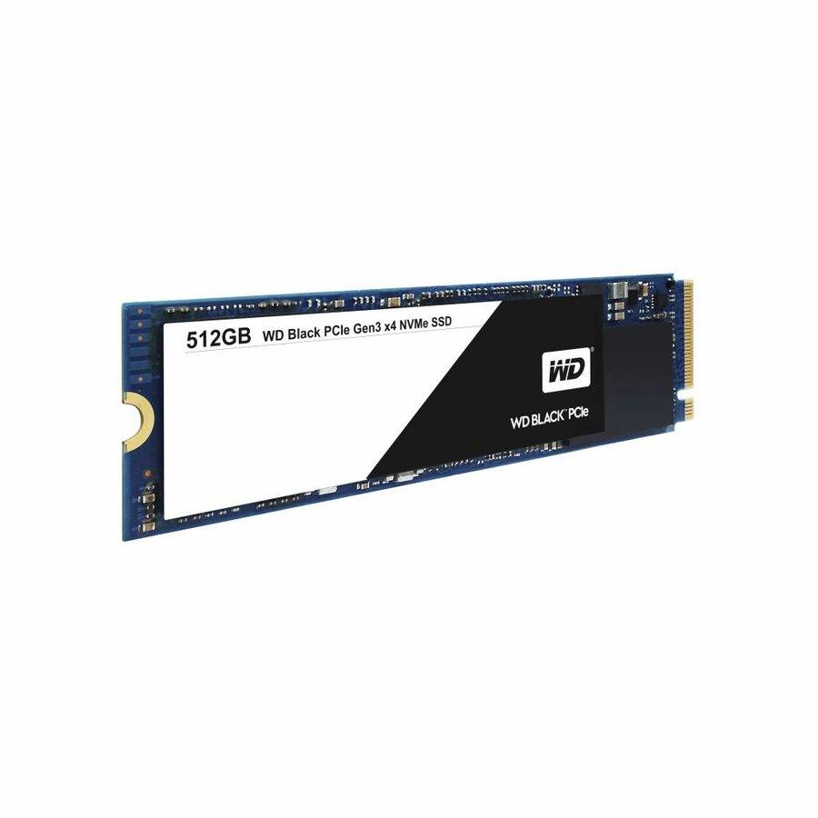 512GB SSD PCIe Gen3 8 Gb/s, M.2 2280 - Black