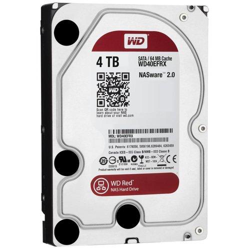 "Western Digital (WDC) 4TB WD Red 3.5"" SATA 6 Gb/s NAS Hard Drives"