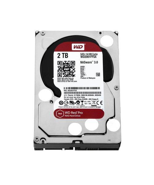 """Western Digital (WDC) 2TB 7.200 rpm 3.5"""" SATA 6 Gb/s, WD Red™ Pro"""
