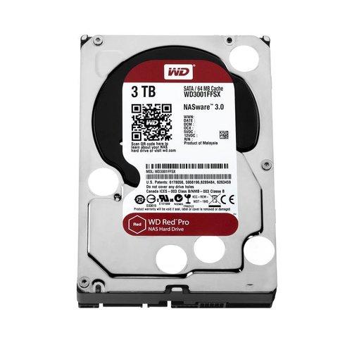 """Western Digital (WDC) 3TB 7.200 rpm 3.5"""" SATA 6 Gb/s, WD Red™ Pro"""