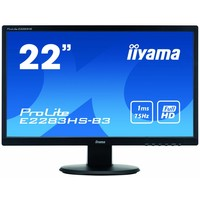 """Prolite E2283HS-B3, 22"""" LED, VGA/DP/HDMI"""