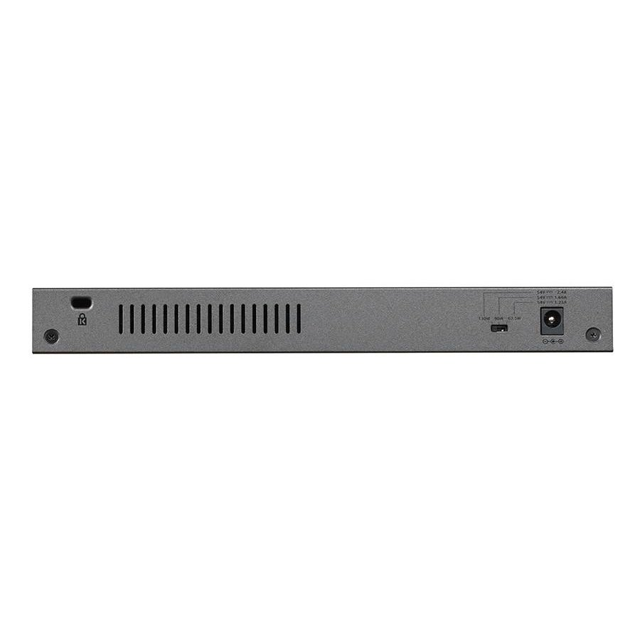 GS108PP-100EUS, 8 Poort PoE/PoE+ Gigabit Switch