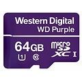 Western Digital (WDC) 64GB Purple microSD Card