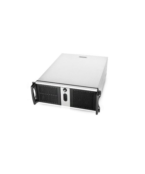 "Veiligheid Voor Alles 19"" 4U-465mm VMS Server/NVR I7 2 x 1TB Surveillance"