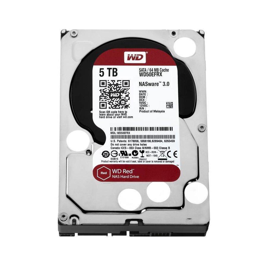 "5TB WD Red 3.5"" SATA 6 Gb/s NAS Hard Drives"